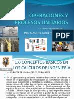 Operaciones y Procesos Unitarios 1