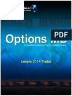 Sample Trades 2014