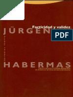 Habermas Facticidad y Validez