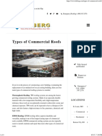 Types of Commercial Roofs Commercial Roofing