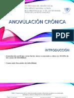 Anovulacion Cronica