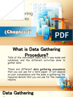 Data Gathering Procedure
