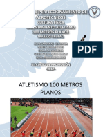 atletismo 100m