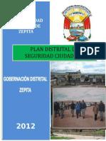 Plan Seguridad Ciudadana