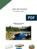 PPT Diseño de Puentes - Presentación