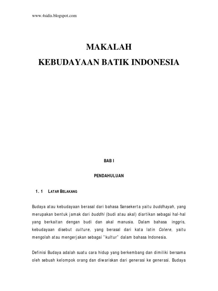 MAKALAH KEBUDAYAAN BATIK INDONESIA1.pdf 19181f6e5c