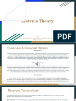 Systems Theory With Audio