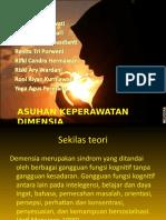 ASUHAN KEPERAWATAN DIMENSIA