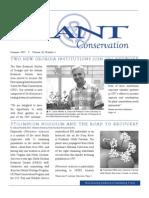 Summer 2007 Plant Conservation Newsletter
