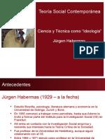"""Ciencia y Técnica Como """"Ideología"""" - Habermas"""