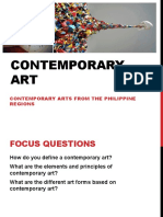 Elements and Principles of Contemporary Arts