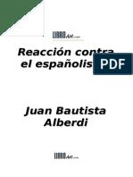 Reaccion contra el españolismo.doc