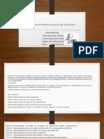 Normas Internacionales de Auditoria Diapositivas