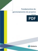 Apostila Fundamentos Do Gerenciamento de Projetos