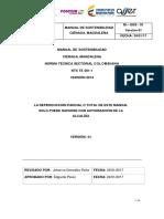 Manual de Sostenibilidad Ciénaga, Magdalena