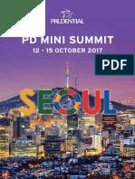 PD Mini Summit Seoul Travel Guide