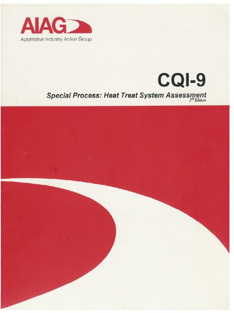 Key points in cqi-9.