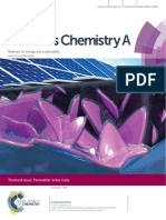 1.Highly Efficient Perovskite Solar Cells Based on a Nanostructured WO3TiO2 Coreshell Electron Transporting Material