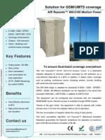 AIR Repeater GSM-UMTS Bi-band 900-2100 Medium Power
