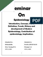 1 - Epidemiology
