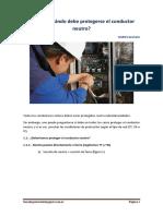 Cómo y Cuándo debe protegerse el conductor neutro.pdf