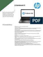 HP 450 G2 specs.pdf