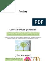 Frutas características generales