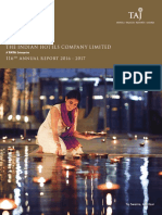 IHCL Annual Report 2016-17