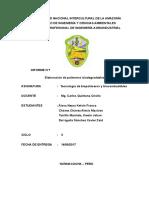 Bioplástico a Base de La Cáscara Del Plátano (Autoguardado)