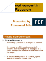 Informed Consent_Behavioral Economics