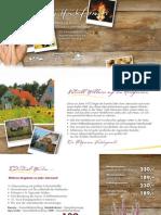 Herbst & Winter Urlaubskatalog fuer Wellnessurlaub in Deutschland