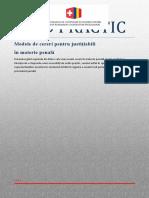 Ghid Practic - Modele de Cereri Pentru Justiţiabili În Materie Penală