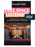 Free Space Listening Acoustic Fields 2017