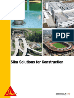 Sika Solutions for Construction
