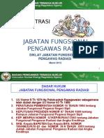 Slide Administrasi Jafung Pengawas Radiasi