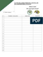 Rifa Para Implementación de Laboratorio de La Escuela de Ingeniería Agroindustrial Vii Ciclo (2)
