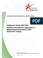 Guidance Note NDT 001, Feb 04
