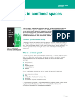 Safe Work in Confined Space