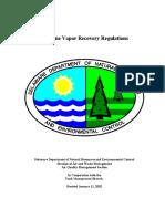 Gasoline Vapor Recovery Regulations