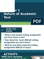 INTRO TO ACAD TEXTS