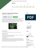 Compressors – Working and Characteristics