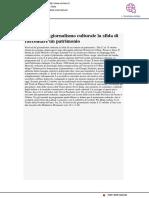 Festival del Giornalismo Culturale, la sfida di raccontare un patrimonio - Corriere.it, 11 agosto 2017