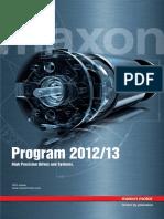 Maxon 2012-13 Catalog