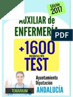 Ltaenfja-0000 Muestra-libro Test Auxiliar Enfermería Junta Andalucía