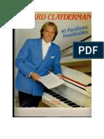 Richard Clayderman - 40 Partitions Inoubliables.pdf