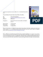 Synthesis and antibacterial activity studies of 2, 4- di substituted furan derivatives