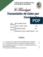 1.9.- Ecuacion de Conduccion