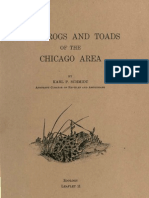 (1929) The Frogs and Toads of the Chicago Area