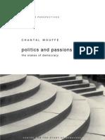 Politics and Passions