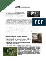 Richard Long - Recherches et présentation